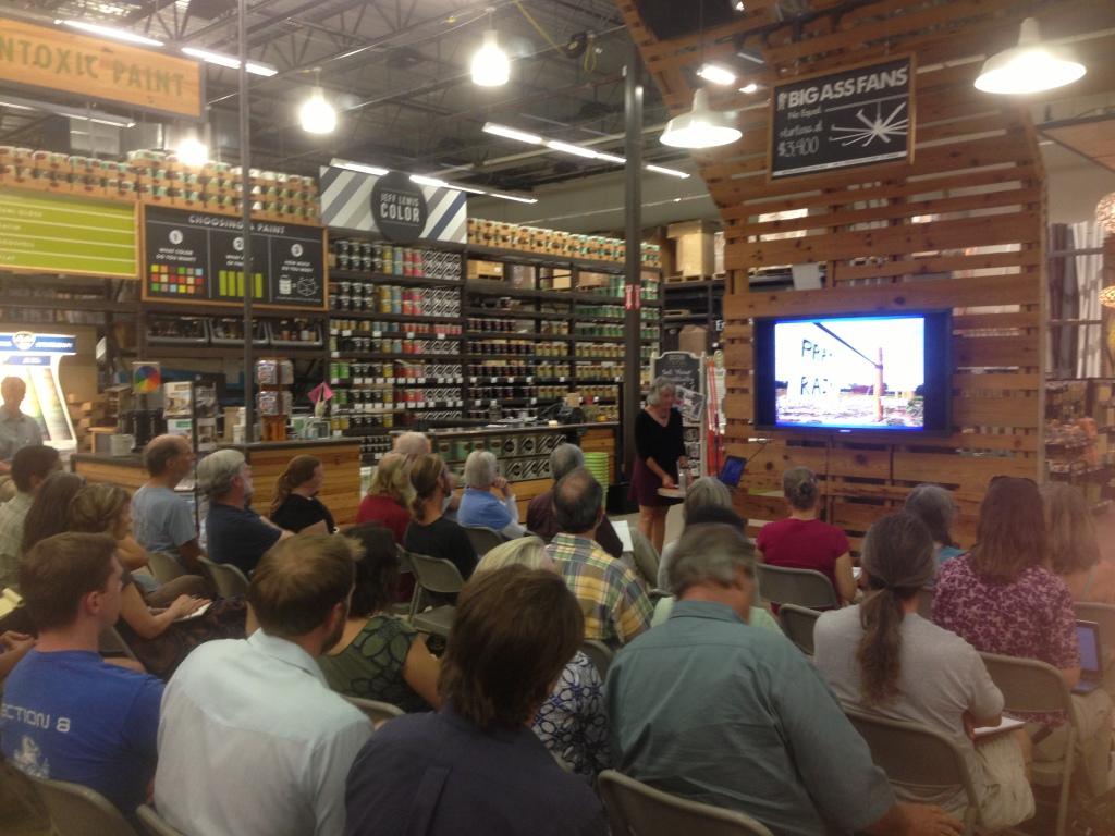 Lauren Ross Greywater talk at Design Build LIve