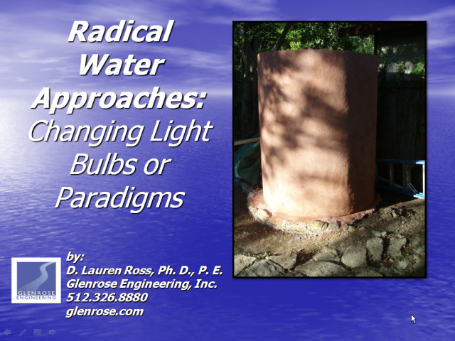 Radical Water Solutions